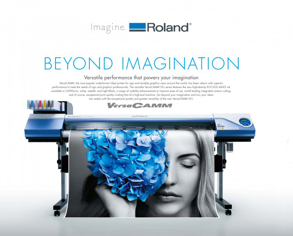 Roland Large Format High Resolution Printer